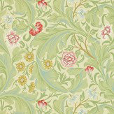 Morris Leicester Green / Multi Wallpaper