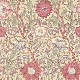 Morris Pink & Rose Pink / Red / Lilac Wallpaper - Product code: 212566