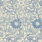 Morris Pink & Rose Blue Wallpaper