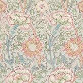 Morris Pink & Rose Pink / Blue Wallpaper - Product code: 212568