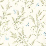 Thibaut Summertime Green / White Wallpaper - Product code: T4193