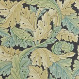 Morris Acanthus Green Wallpaper