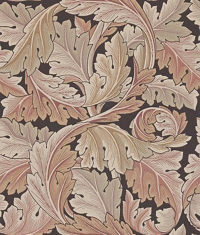 Morris Acanthus Pink / Brown Wallpaper - Product code: 212551