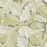 Morris Acanthus Pale Grey Green Wallpaper