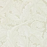 Morris Acanthus Stone / Grey Wallpaper