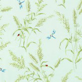 Thibaut Summertime Aqua Wallpaper - Product code: T4195