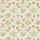 Morris Daisy Yellow / Pink Wallpaper - Product code: 212560