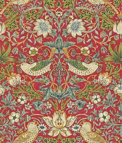 Morris Wallpaper Strawberry Thief 212563