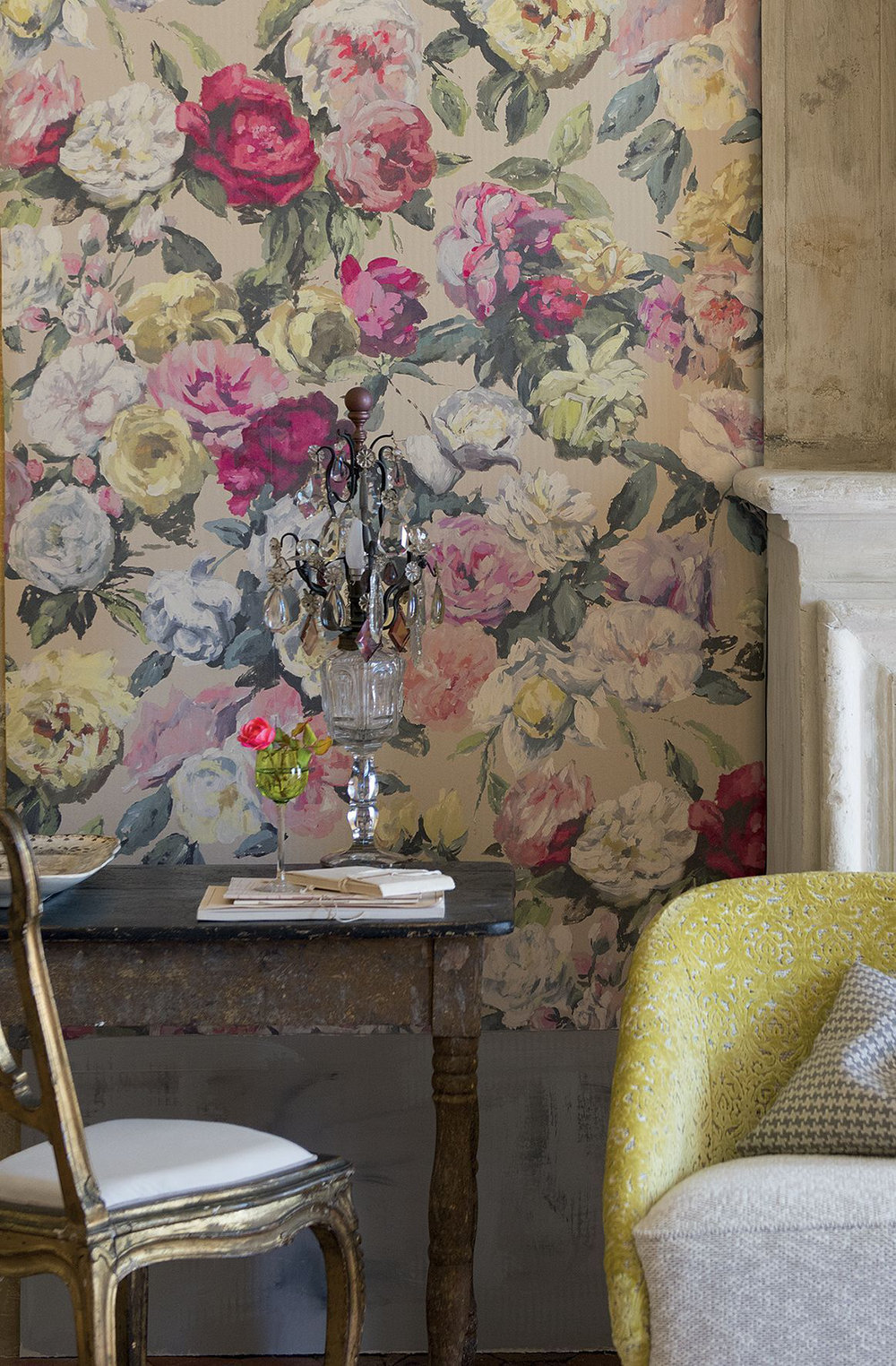 Designers Guild Octavia Multi Wallpaper