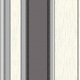 Albany Synergy Stripe Black / Silver / Cream Wallpaper