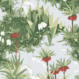 Boråstapeter Scandinavian Designers Red / Green / White Wallpaper - Product code: 2732