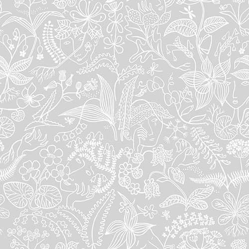 Boråstapeter Scandinavian Designers Dove Grey Wallpaper main image
