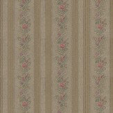 Albany English Classics Dark Beige / Pink / Green Wallpaper
