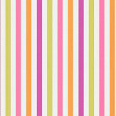 Harlequin La Di Da Pink / Green / Orange / Purple Wallpaper
