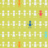 Harlequin Reggie Robot Green Wallpaper - Product code: 110532