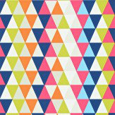 Harlequin Kaleidoscope Pink / Orange / Green / Blue Wallpaper - Product code: 110523