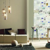 Caselio Postcard Wall Panel Wallpaper