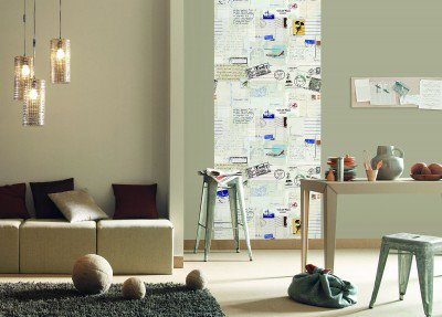 Image of Caselio Wallpapers Postcard Wall Panel, TDM6131 00 12