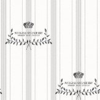 Boråstapeter Marstrand Cream / Taupe / Black Wallpaper - Product code: 2965