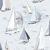 Boråstapeter Marstrand Pale Grey / Blue Wallpaper - Product code: 2976