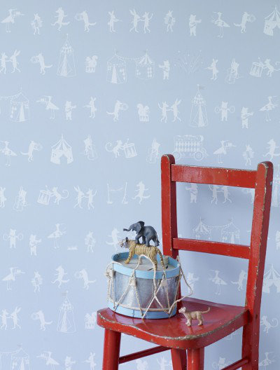 Image of Hibou Home Wallpapers Animal Parade, HH00503