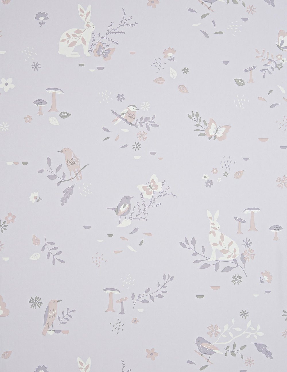 Hibou Home Secret Garden Blush Wallpaper - Product code: HH00701