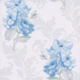 Kandola Shadow Wallpaper Cream / Blue