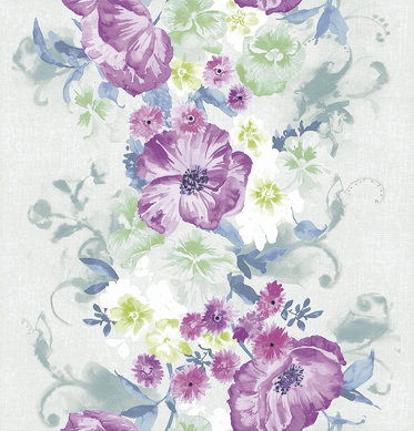 Kandola Grace Wallpaper Pink / Green - Product code: DW1572/02/215