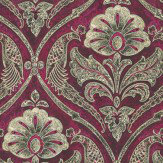 Kandola Paradise Wallpapers Red / Gold - Product code: DW1569/02/215