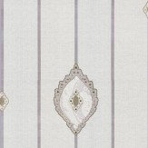 Kandola Promise Applique Green / Blue / Brown Wallpaper