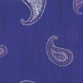 Kandola Monsoon Applique Purple Wallpaper