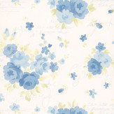 Kandola Julia Wallpaper Blue / Green - Product code: DW1564/01