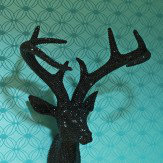 Arthouse Black Bling Stag Art
