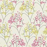 Sanderson Pippin Pink / Green Wallpaper