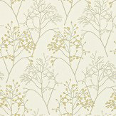 Sanderson Pippin Gold / Silver Wallpaper