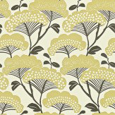 Sanderson Tree Tops Gold / Ivory Wallpaper
