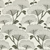 Sanderson Tree Tops Silver / Ivory Wallpaper