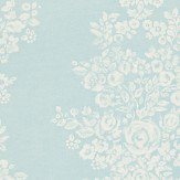 Sanderson Freya Duck Egg / Cream Wallpaper