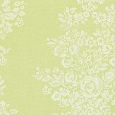 Sanderson Freya  Linden Green Wallpaper