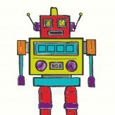 Arthouse Robot Light Up Canvas Art