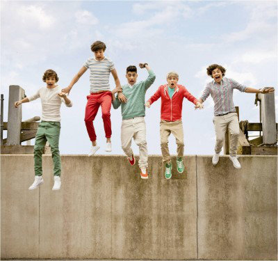 Image of One Direction Murals One Direction Mural Jump, 1D-JUMP-003