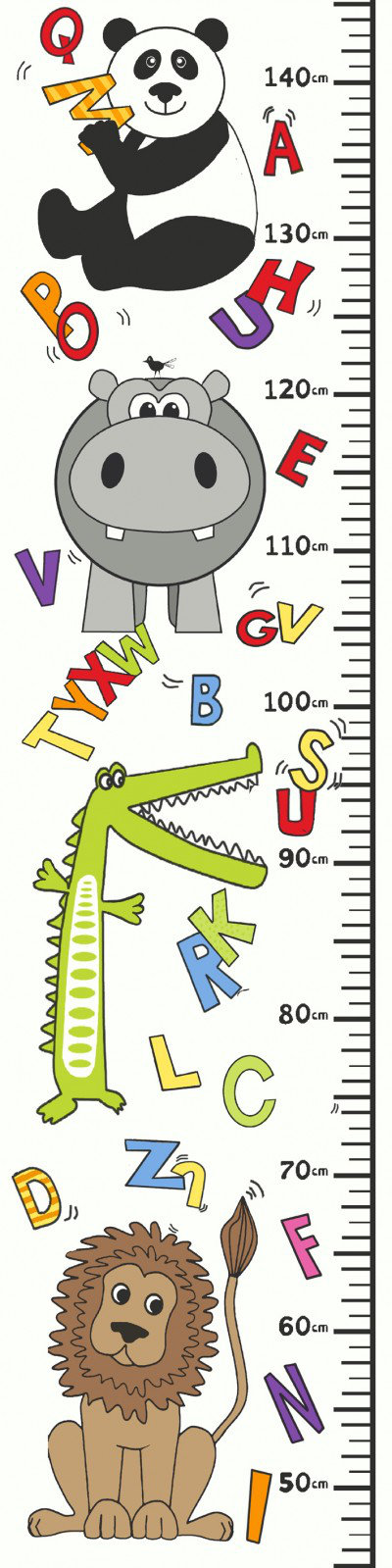 Image of Arthouse Art ABC Height Chart, 002846