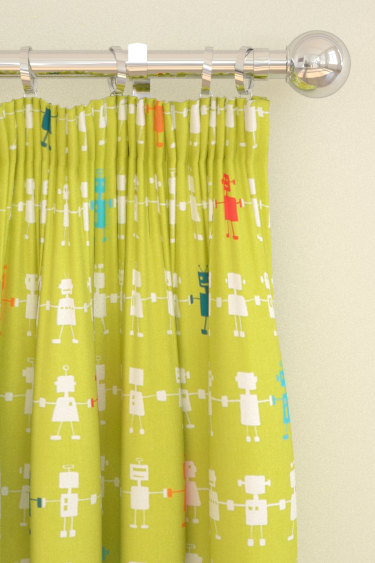Harlequin Reggie Robot  Lime Curtains - Product code: 120229
