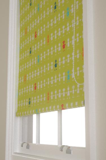 Harlequin Reggie Robot  Lime Blind - Product code: 120229