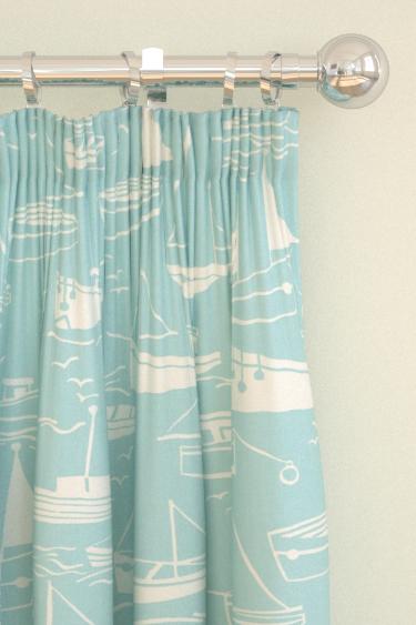 Harlequin Sail Away Aqua Curtains - Product code: 120231