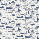 Harlequin Sail Away Navy Fabric