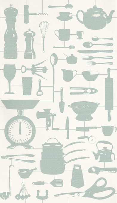 Image of Graduate Collection Wallpapers Airfix Kitchen Duckegg, 26214