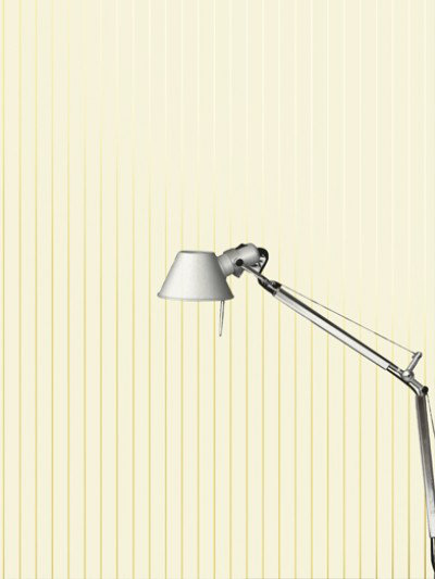 Image of Erica Wakerly Wallpapers Pinstripe 002 cream/gold, Pinstripe 002