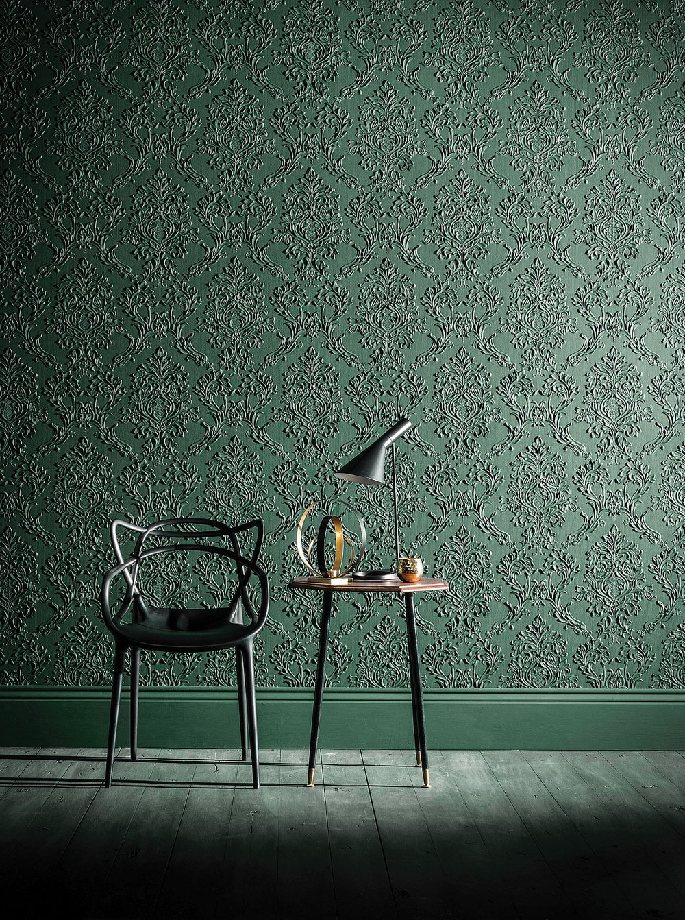 Lincrusta Rocco Paintable Wallpaper - Product code: RD1969FR