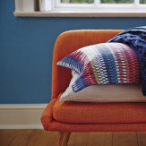 Harlequin Array Stripe Throw Blue